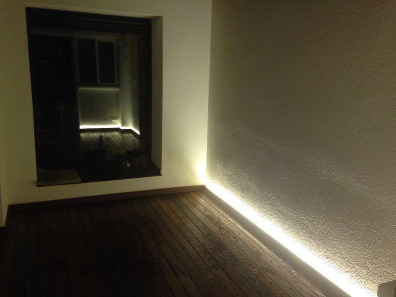 Iluminaci n realizada con high power led strip cepa - Iluminacion sin electricidad ...